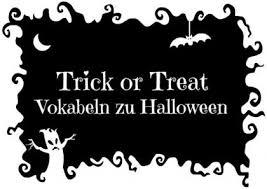 Trick Or Treat Vokabeln Zu Halloween Kaplan International