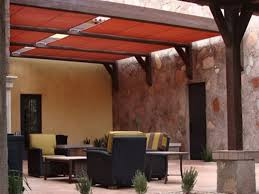 Patio cover canvas Awning Shade Options For Patios Canvas Patio Cover Roof Myvinespacecom Shade Options For Patios Canvas Patio Cover Roof Patio Material