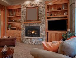 wood stove insert surround