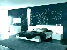 modern accent wall bedroom