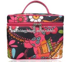 hand held large make up bags and cases with full prints nice and beauty