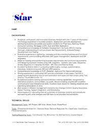 Financial Management Analyst Resume Sample Lovely Sample Ba Resume