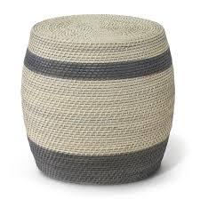 palecek reyna round stool  candelabra inc