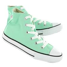 converse shoes high tops for girls. converse girls\u0027 all star peppermint canvas hi top sneakers 342367 shoes high tops for girls h