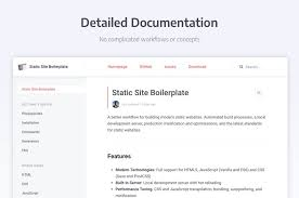 Static Site Boilerplate Alternatives and Similar Websites and Apps ...