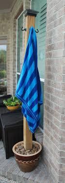 23 ideas of diy pool towel rack