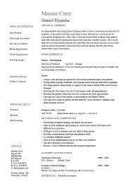 Dentist Resume Samples Dental Technician Resume Nursing Medical Resume Examples For Dental