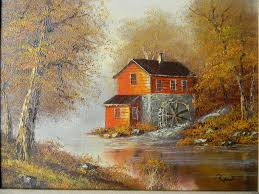 oil painting on canvas landscape red tag item sold ruby lane