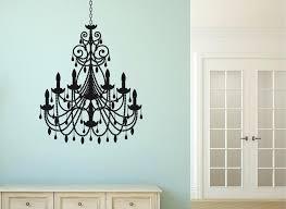 chandelier wall art chandelier wall art sticker chandelier wall art decal