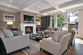 living room tv fireplace design