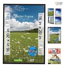 16x20 basic modern poster picture frame glass holder decor wall big poster home