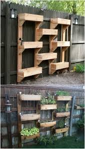 space saving vertical herb garden ideas