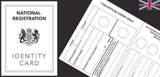 Printable Identification Card World War 2 Identity Card Paperzip