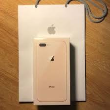 apple iphone 8 gold. image is loading new-apple-iphone-8-plus-gold-256-gb- apple iphone 8 gold a
