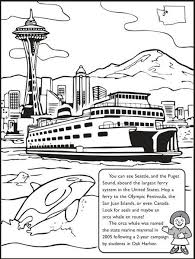 Small Picture For the kids The Washington State Coloring Book