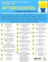 Lights On Afterschool Lights On Afterschool 2018