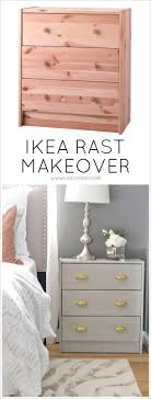 Grey Wash Wood Stain Livelovediy Diy Ikea Rast Makeover With Weathered Gray Wood Stain