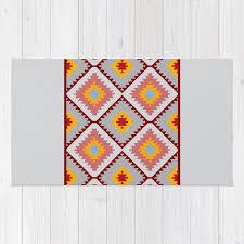 turkish carpet blue gray pink orange patchwork mosaic oriental kilim rug rug
