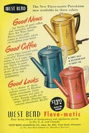 More buying choices $9.76 (7 new offers) coffee makers parts & accs power cord for west bend coffee urn 58036 58002 36 4.0 out of 5 stars 1. Vintage West Bend Flavo Matic Percolator In Pink One Hot Oven