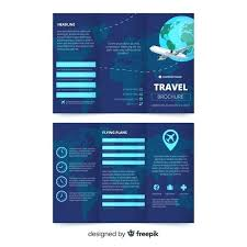 Brochure Template For Word 2007 Holiday Travel Brochure Pamphlet Template Microsoft Word