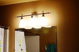 image of bathroom lighting ideas over mirror