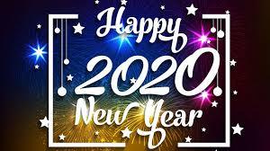 Happy New Year 2020 Desktop Wallpaper
