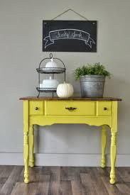 End Table Paint Ideas Best 25 Yellow Chalk Paint Ideas On Pinterest Yellow Bathroom