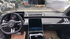 Find car parts, accessories, tools. Leaked Images Of The New Mercedes S Class Show Its Futuristic Interior Robb Report