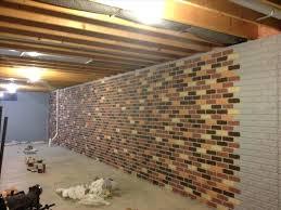 cinder block wall ideas basement basement wall ideas how to cover cement block walls er