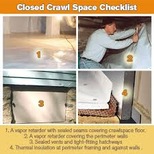 sealed crawl space cost. Simple Crawl The Crawlspace Argument Open Vented Vs Closed Encapsulated In Sealed Crawl Space Cost