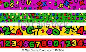 Preschool Page Borders Preschool Borders Set Of Four Educational Page Border Designs