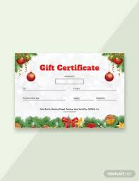53 Free Gift Certificate Templates Download Ready Made Template Net
