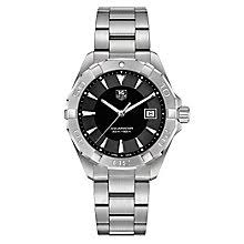tag heuer watches quality swiss watches ernest jones watches tag heuer aquaracer men s stainless steel bracelet watch product number 4716981