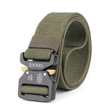 whole retail mens leather belt men s military fans tactical belts multi functional nylon outdoor training belts whole