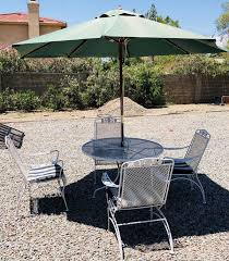 vintage metal patio furniture table and chairs antiques in phoenix az offerup