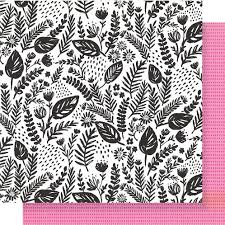 Patterned Paper Impressive Crate Paper Good Vibes Flourish Patterned Paper Sheet