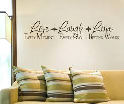 Design Gallery Live Laugh Love Decal Add Photo Gallery Live Laugh Love Wall Decor
