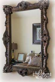 How to Update a Mirror With Paint