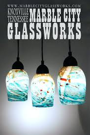 hand blown glass pendant lighting. artisan glass pendant lights turquoise speckled hand blown light unique lighting example m