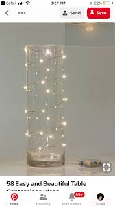Philips Dewdrop Lights Plug In Pin By Renee Williams On Aom Decor Lighted Centerpieces