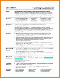 Military To Civilian Resume Template Excellent Infantry Resume Civilian Gallery Entry Level Resume 81