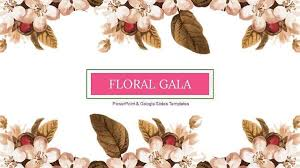 Ppt Flowers Floral Gala Free Floral Powerpoint Themes And Google Slides Templates