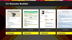 Cv Resume Builder Download