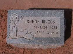 Duane McCoy (1928-1930) - Find A Grave Memorial