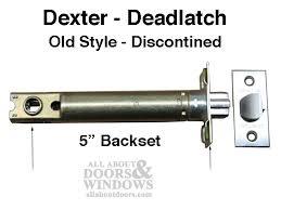 dexter deadlatch entry door 5
