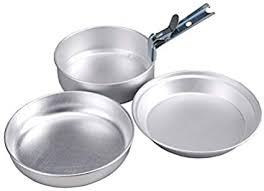 <b>AceCamp 2 Person</b> Cooking <b>Set</b> 1651, Camp Kitchen - Amazon ...