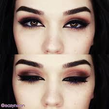 makeup grunge jaci i love it dark brown eyes