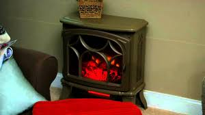 duraflame 1500w large infrared quartz stove heater w flame effect on qvc you