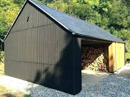 corrugated metal shed ideas design