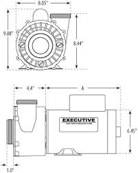 executive frame 2 speed executive 56 frame pumps